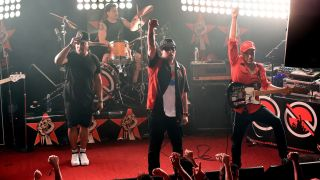 Prophets Of Rage at their first show last night