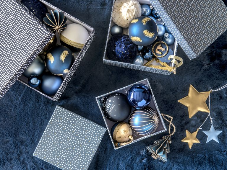Christmas baubles by Maisons du Monde