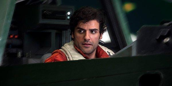 Poe Dameron in Star Wars: The Last Jedi
