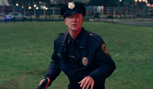 Justice League Marc McClure cop almost in danger