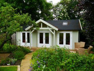 Garden offices timber cladding