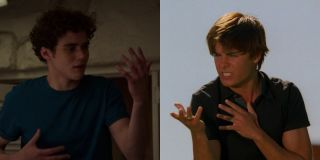 Joshua Bassett in High School Musical series and Zac Efron Bet on It High School Musical 2
