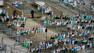sports stadium COVID-19