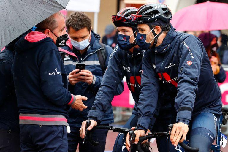 Mauro Vegni at the 2021 Giro d'Italia