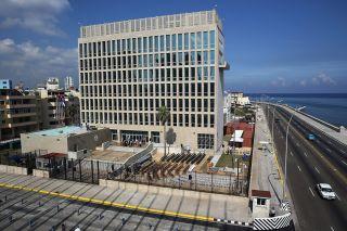 The U.S. Embassy in Havana, Cuba.