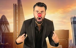 Never mind the red nose, will Rylan be left red faced in Celebrity Apprentice?