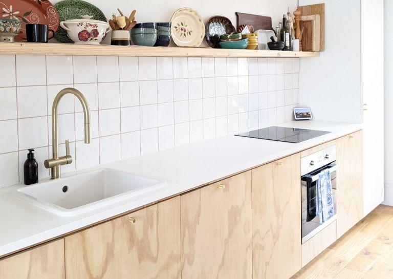 jo lemos kitchen cabinets made of plywood