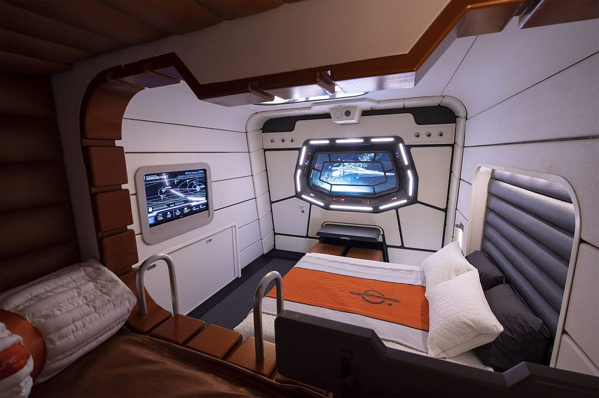Galactic Starcruiser cabin
