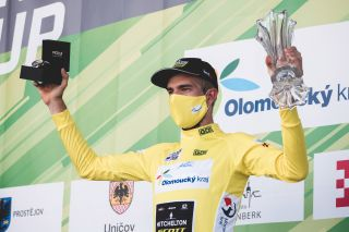 Mitchelton-Scott's Damien Howson won the final stage and took the overall title at the 2020 Czech Tour