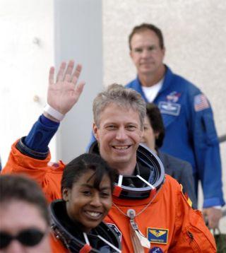 Meet the STS-121 Crew: The Third Man