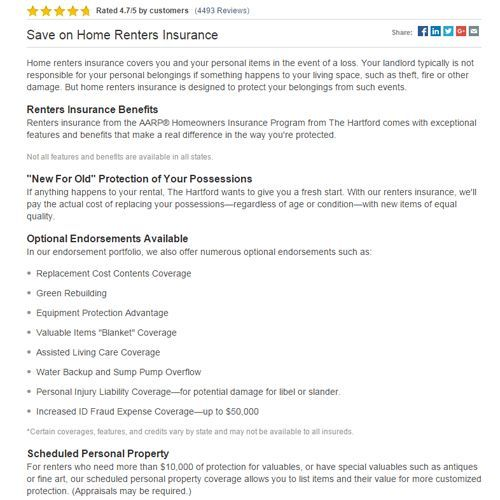 Hartford Insurance Reviews >> Aarp Renters Insurance Review Pros Cons And Verdict Top