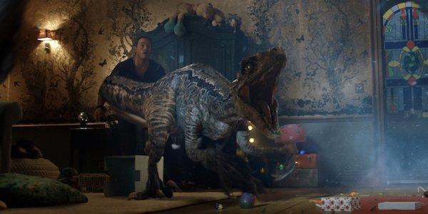 Blue Jurassic World Fallen Kingdom Raptor