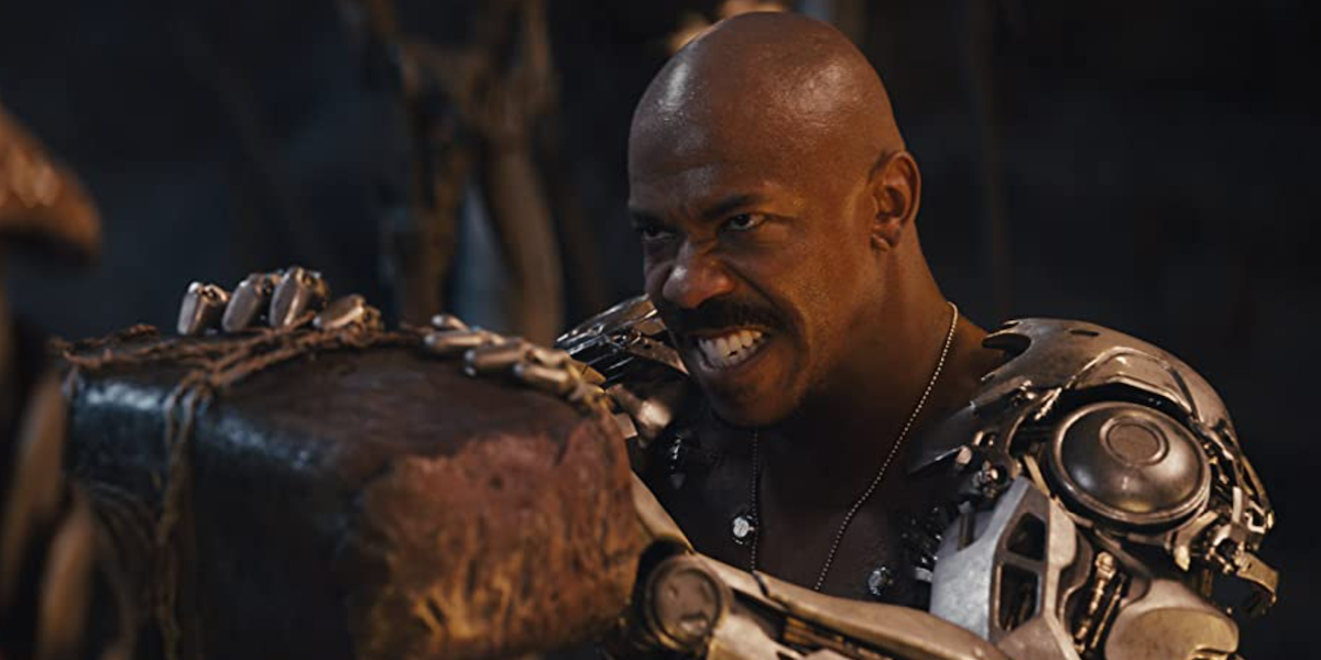 Jax in Mortal Kombat's trailer