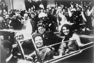 John F Kennedy before assassination