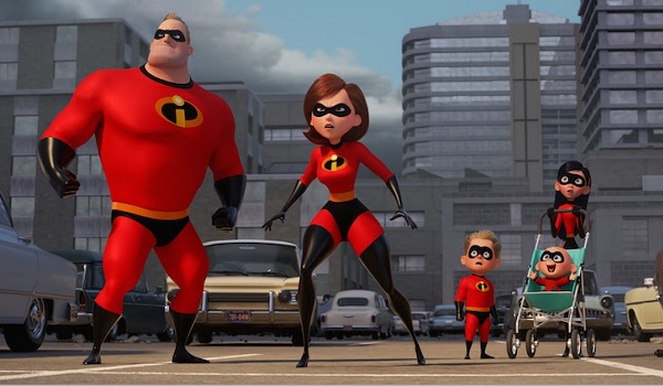 Incredibles 2 the Parr family evaluates the situation
