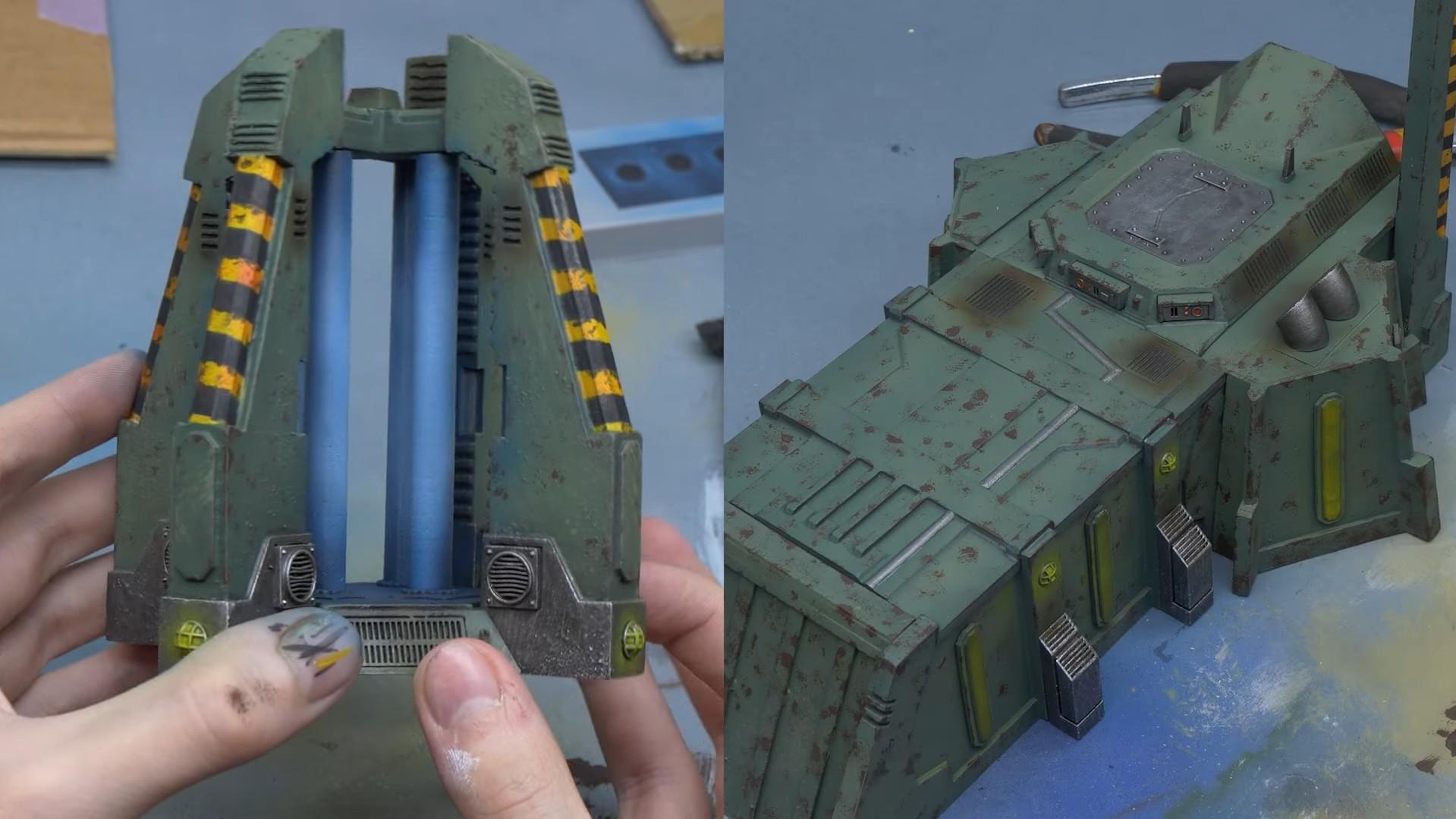 warhammer terrain 3d model