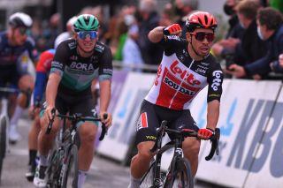Lotto Soudal's Caleb Ewan wins the 2020 Scheldeprijs