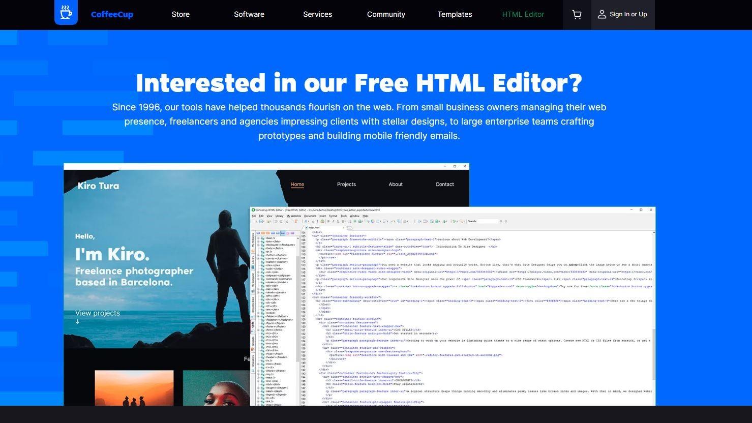Coffeecup Free Html Editor Review Techradar