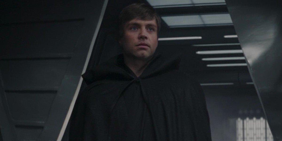 Luke Skywalker on The Mandalorian