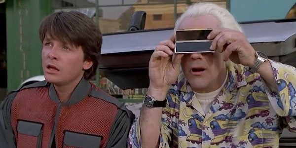 Marty and Doc Brown in BTTF 2