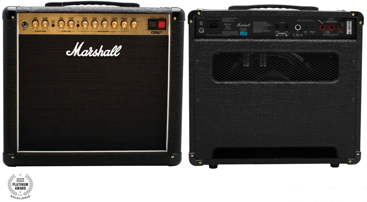 Review Marshall Dsl20c Amp Guitarworld Ultimateguitarcom Wiring Two Humbuckers With 4way Switches
