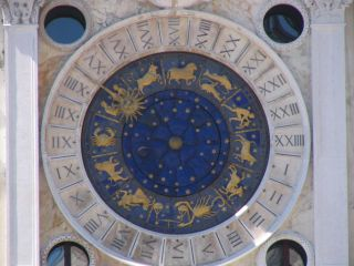 St. Mark's Clock in Venice, time