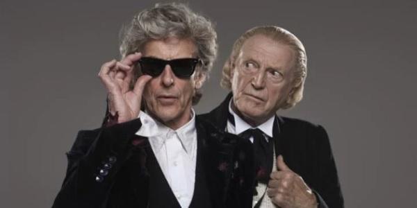 Doctor Who Christmas 2017 twelve to one