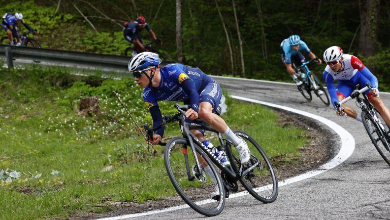 Remco Evenepoel on stage 14 fof the Giro d'Italia
