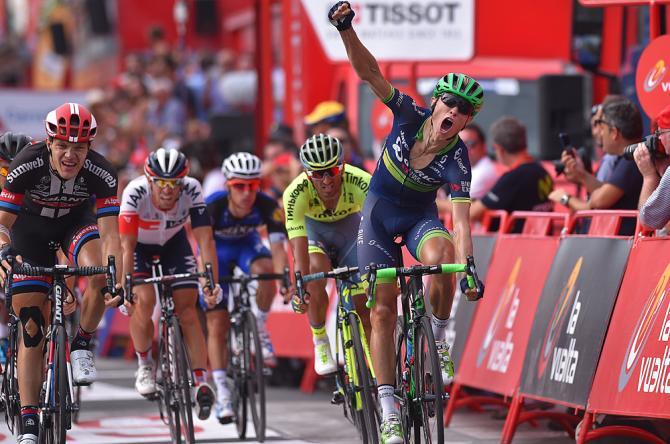 Magnus Cort Nielsen (Orica-BikeExchange) wins Vuelta a Espana stage 18