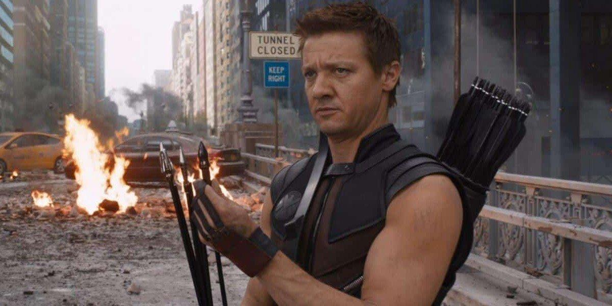 Jeremy Renner as Clint Barton/Hawkeye in The Avengers (2012)