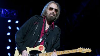 A shot of tom petty