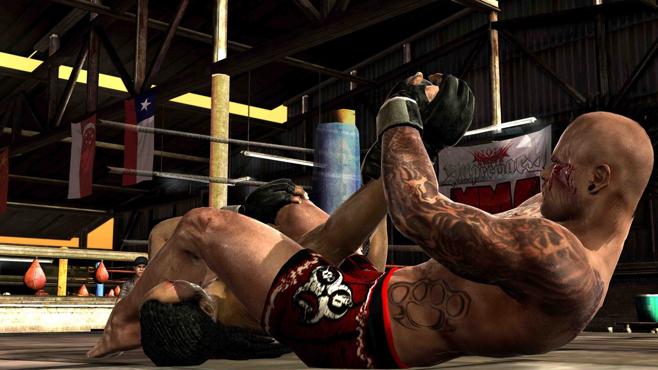 Supremacy MMA Takedown And Submission Screenshots Released #18582