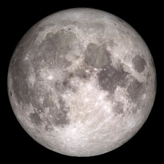 The near side of the moon, as seen by NASA's Lunar Reconnaissance Orbiter spacecraft. The United States aims to return astronauts to the lunar surface by 2024, Vice President Mike Pence announced on March 25 2019.