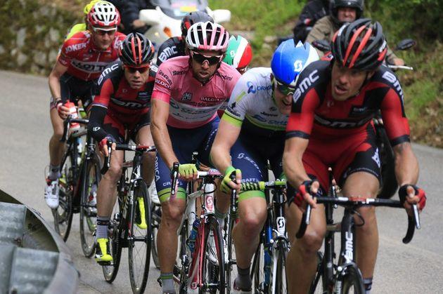 Michael Matthews on stage six of the 2014 Giro d'Italia