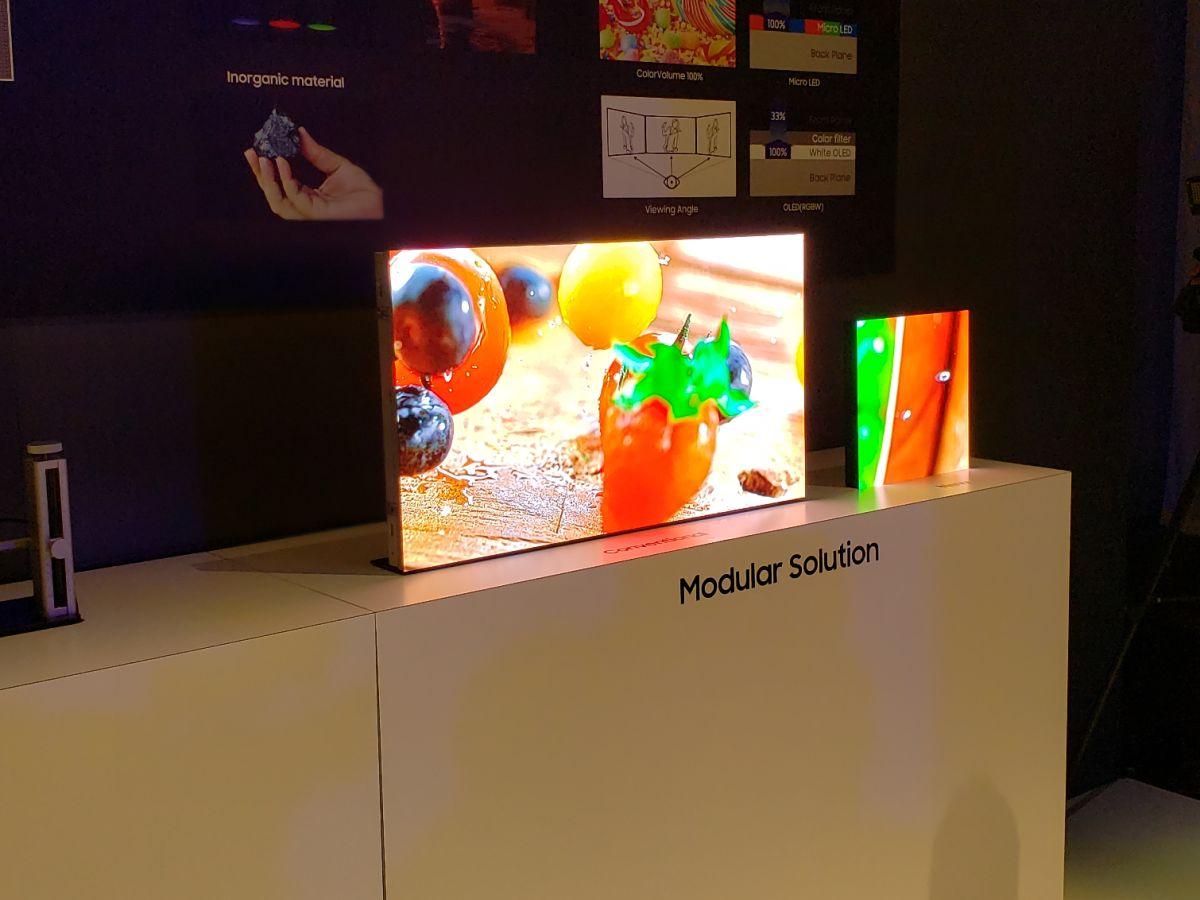Samsung's Modular MicroLED Window Feels Like the Future of TV