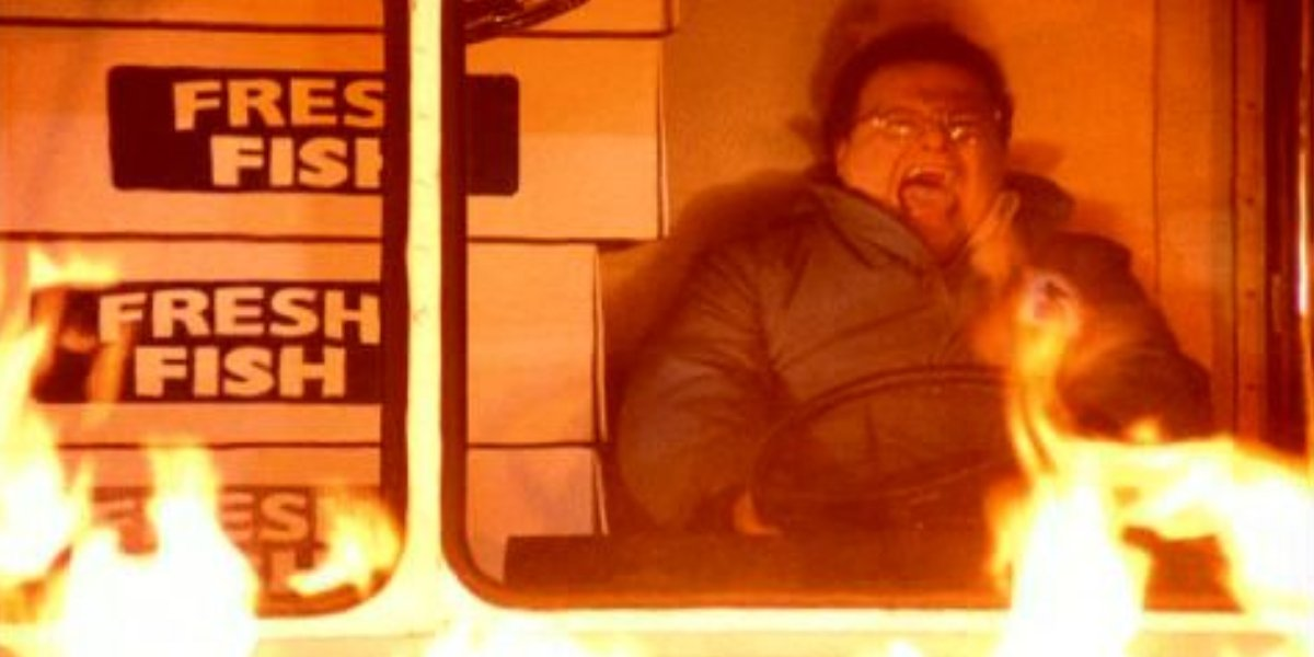 Newman catches fire on Seinfeld