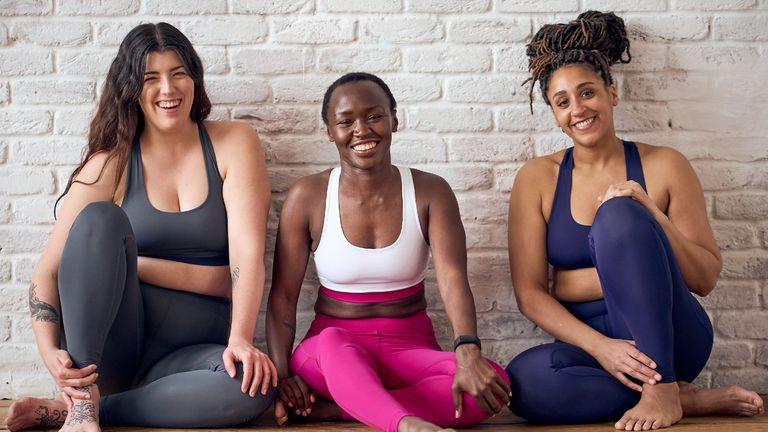 Women is yoga wear