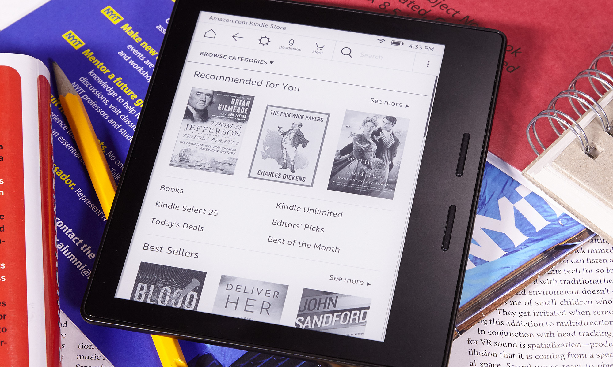 Amazon Kindle Oasis (2017) Review | Tom's Guide