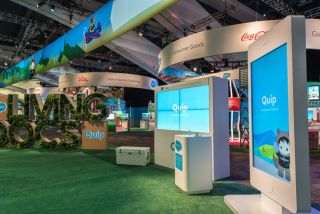 TiniFiber Powers Main Theater at DreamForce 16