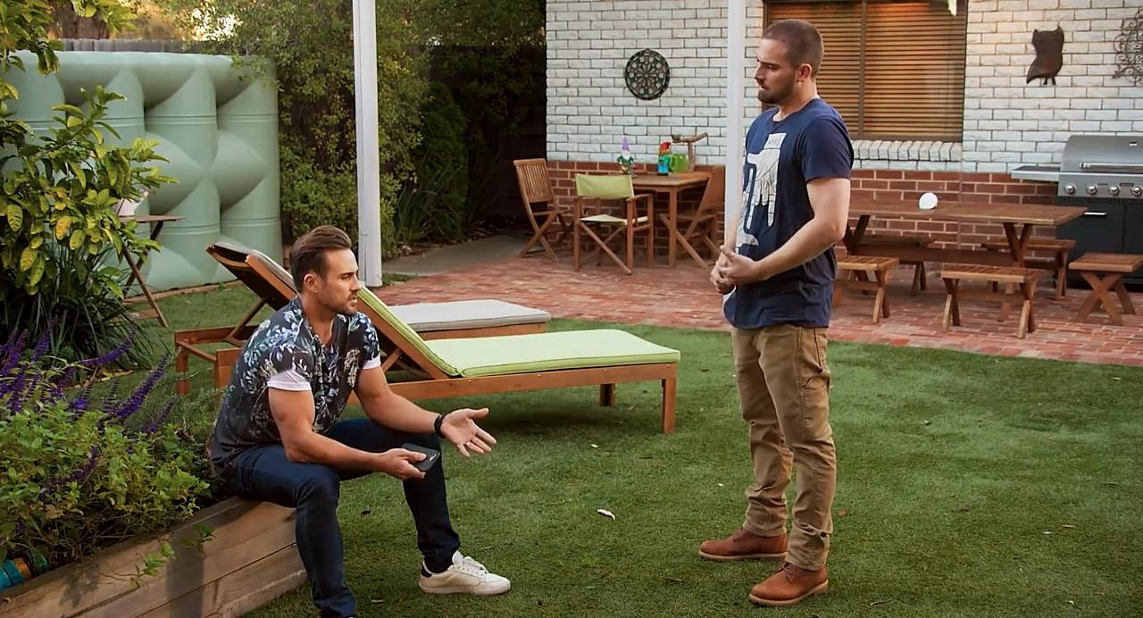 Spoilers de vecinos, Aaron Brennan, Kyle Canning