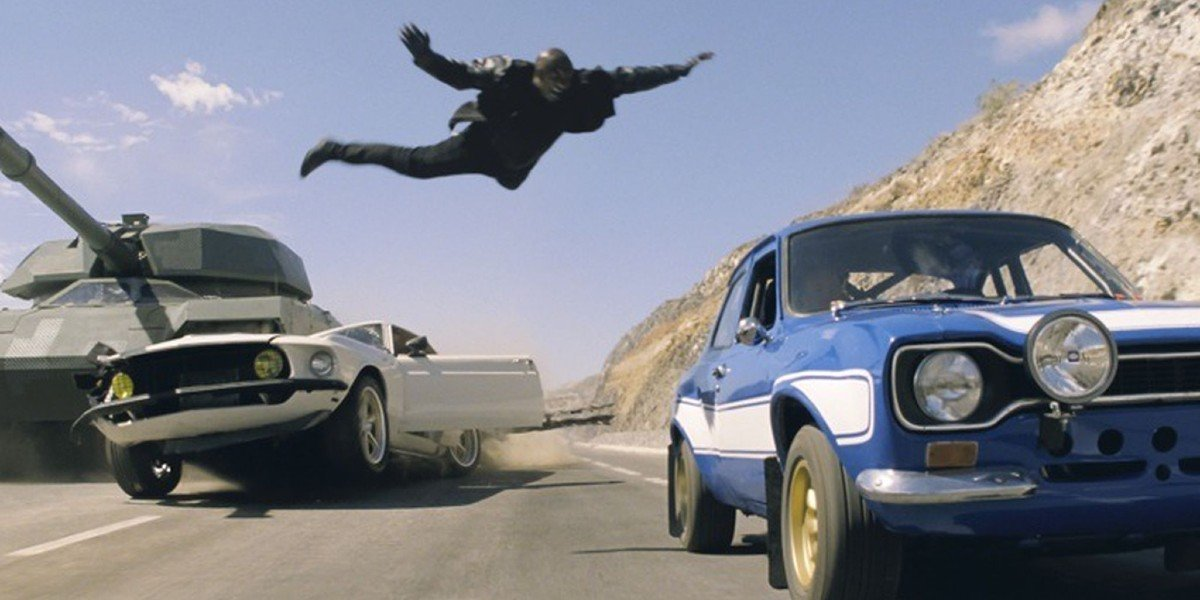 Screenshot from Fast & Furious 6