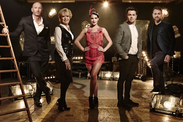 The first week's contestants for Get Your Act Together (ITV)