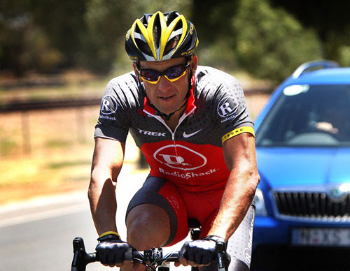 Lance Armstrong, Tour Down Under 2010