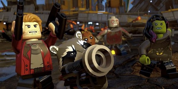Guardians of the galaxy Lego Marvel Super Heroes 2