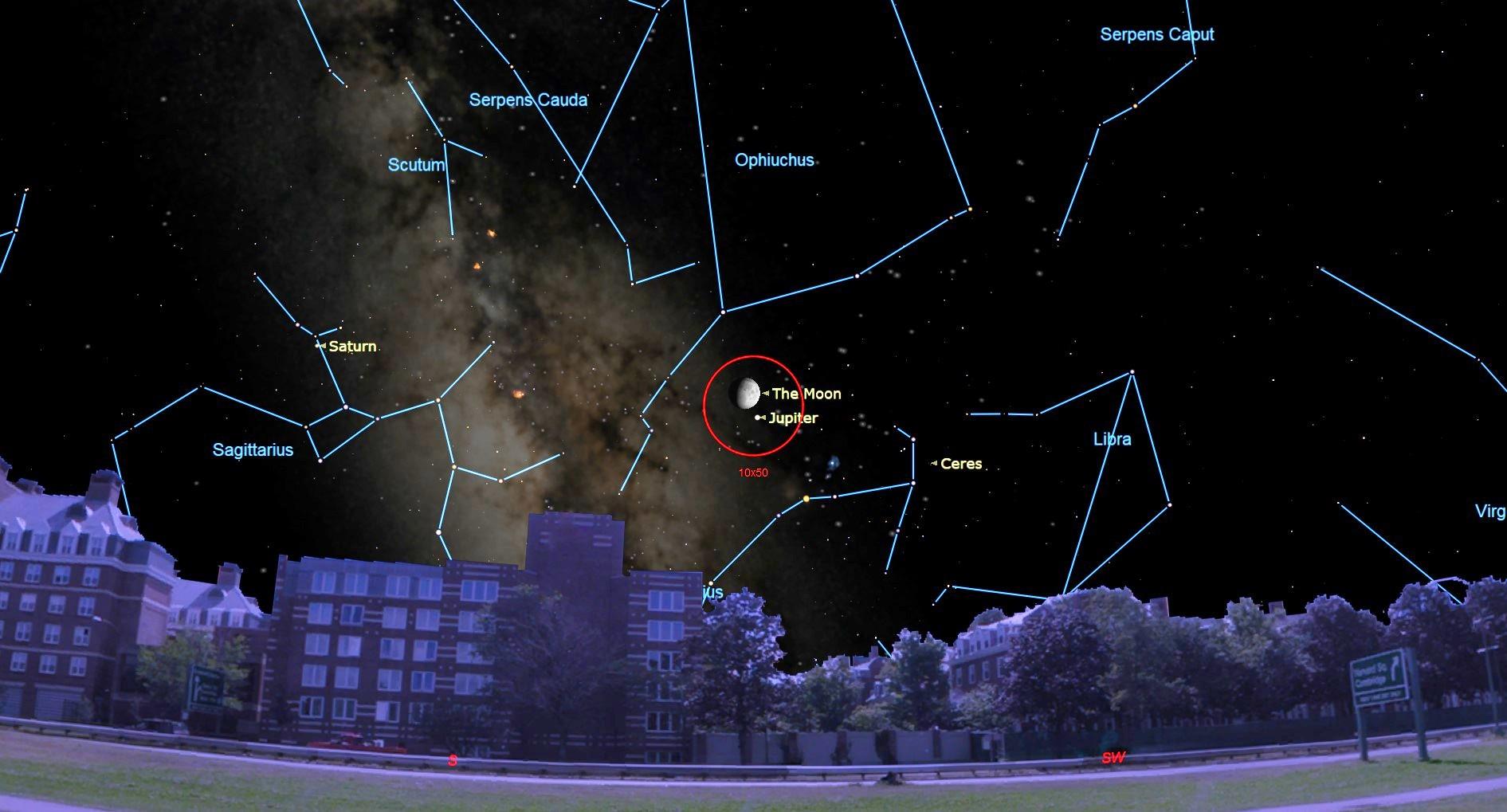 Best Night Sky Events of September 2019 (Stargazing Maps