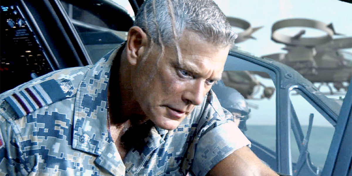 Avatar actor Stephen Lang as Colonel Miles Quaritch