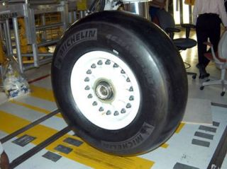 NASA Rolls Out Space Shuttle Tires for Loan