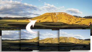 Lightroom tutorial panorama stitching