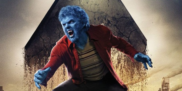 Nicholas Hoult as Beast in X-Men: Apocalypse Promotional Image