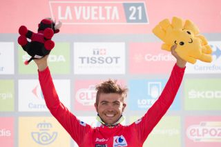 Odd Christian Eiking (Intermarché-Wanty-Gobert Matériaux) continues to lead the Vuelta a España after stage 14